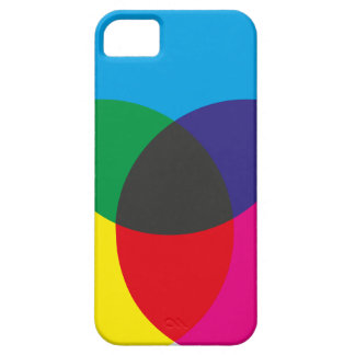 Carta de mezcla del color que se tiene que sustrae iPhone 5 funda
