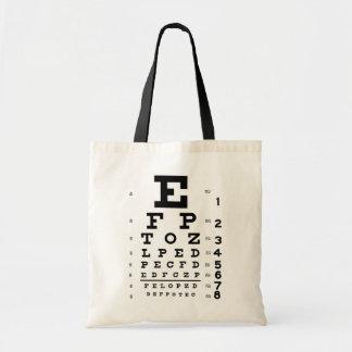Carta de ojo bolsa tela barata