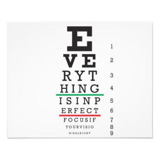 Carta de ojo de la optometría fotos