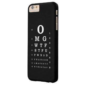 Carta de ojo del diccionario del Internet Funda De iPhone 6 Plus Barely There