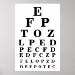 Carta de ojo poster