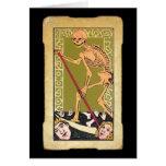 Carta de tarot 13 tarjeta