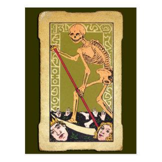 Carta de tarot 13 tarjetas postales