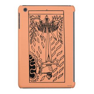 Carta de tarot: As de espadas Funda De iPad Mini