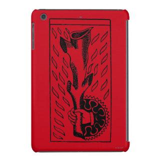 Carta de tarot: As de Roces Fundas De iPad Mini
