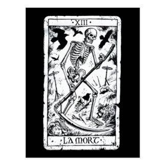 Carta de tarot de Mort del La Postal