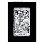 Carta de tarot de Mort del La Tarjeton