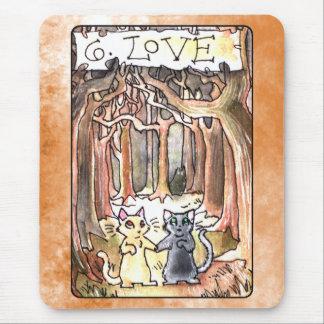 Carta de tarot del amor tapetes de raton