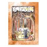 Carta de tarot del amor tarjetas de visita grandes