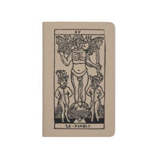 Carta de tarot: El diablo Cuadernos