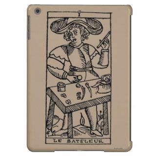 Carta de tarot: El juglar Funda Para iPad Air