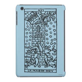 Carta de tarot: El manicomio Funda De iPad Mini