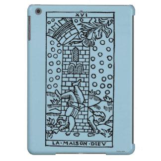 Carta de tarot: El manicomio Funda Para iPad Air