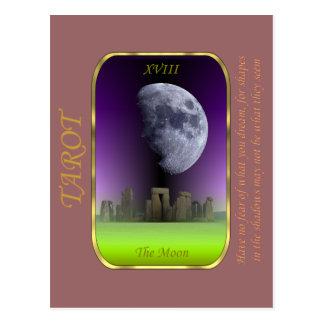 Carta de tarot - la luna tarjetas postales