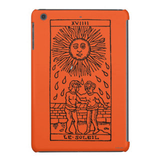 Carta de tarot: The Sun Fundas De iPad Mini