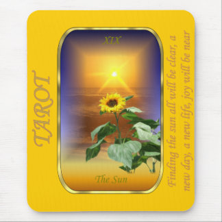 Carta de tarot - The Sun Mouse Pad