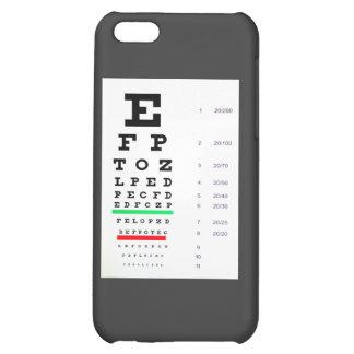 Carta del examen de la vista