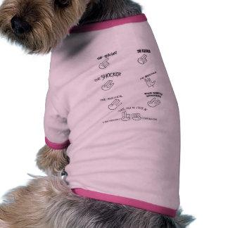CARTA del PLACER para los perros Camisa De Perro