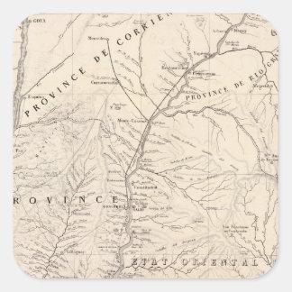 Carta, Entre Rios, Santa Fe, banda de sonido Pegatina Cuadrada
