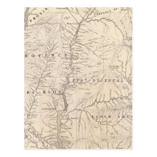 Carta, Entre Rios, Santa Fe, banda de sonido Tarjeta Postal