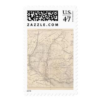 Carta, Entre Rios, Santa Fe, banda de sonido Timbres Postales
