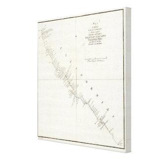 Carta incolora de California Impresión En Lona