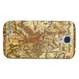 Carta Itineraria Europae by Waldseemüller 1520 Galaxy S4 Case