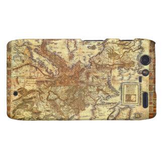 Carta Itineraria Europae by Waldseemüller 1520 Motorola Droid RAZR Covers