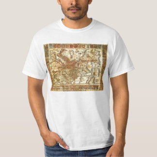 Carta Itineraria Europae by Waldseemüller 1520 T-Shirt