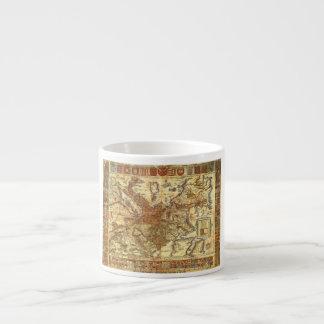 Carta Itineraria Europae por Waldseemüller 1520 Taza Espresso