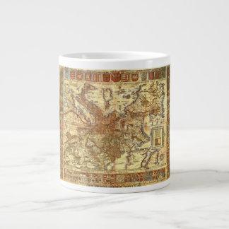 Carta Itineraria Europae por Waldseemüller 1520 Taza Grande