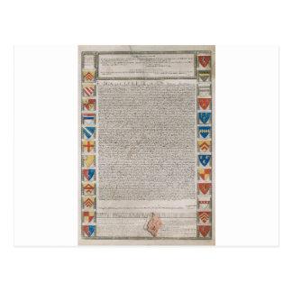 Carta Magna #2 Postal