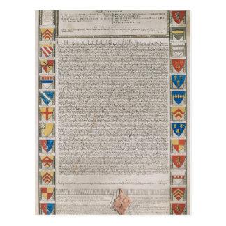 Carta Magna #2 Tarjetas Postales