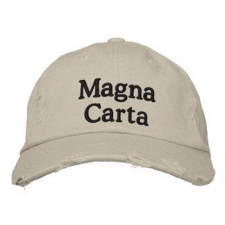 Carta Magna Gorras De Béisbol Bordadas
