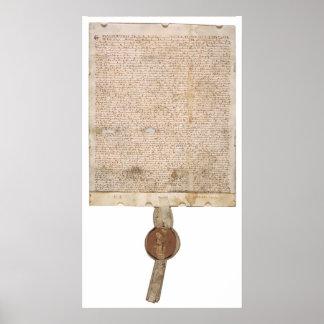 Carta Magna - mejore la exploración Póster