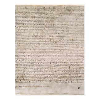 Carta Magna Tarjeta Postal