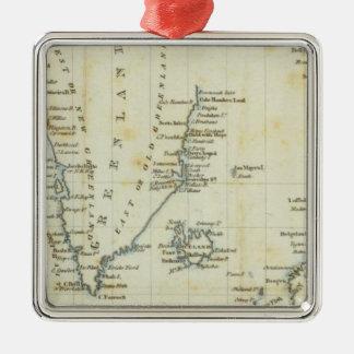 Carta, mares polares ornamentos de reyes magos