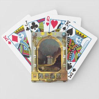Carta masónica baraja de cartas