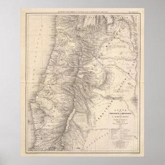 Carta, Province de Mendoza, el Araucan�a Póster