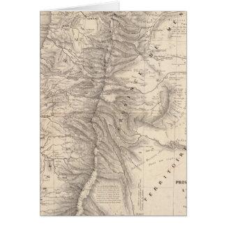 Carta, Province de Mendoza, el Araucan�a Tarjeta De Felicitación