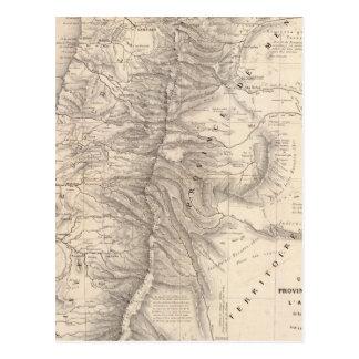 Carta, Province de Mendoza, el Araucan�a Tarjeta Postal