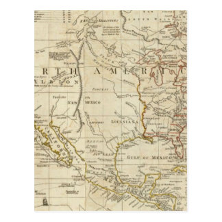 Carta que contiene las costas de California Postales