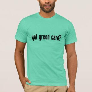 ¿carta verde conseguida? playera