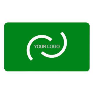 Carta verde elegante. Personalizar con su propia Tarjetas De Visita
