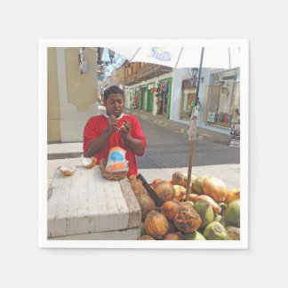 Cartagena - Coconut Vendor Napkin
