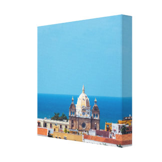 Cartagena, Colombia Old Town Canvas Print