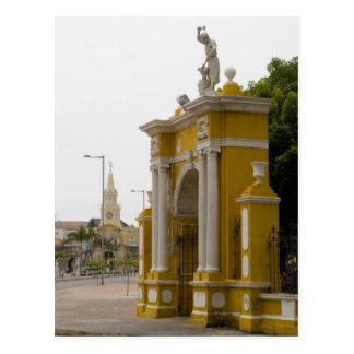 Cartagena, Colombia Postcard
