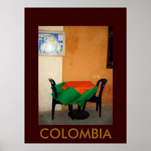 CARTAGENA, COLOMBIA PÓSTER