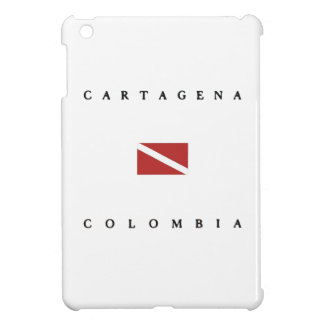Cartagena Colombia Scuba Dive Flag Case For The iPad Mini