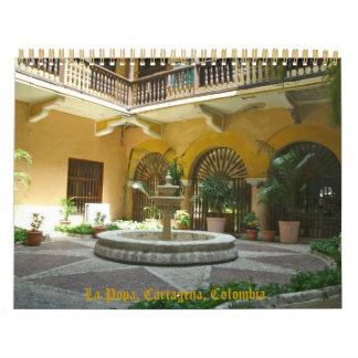 Cartagena, Colombia, Suramérica Calendario